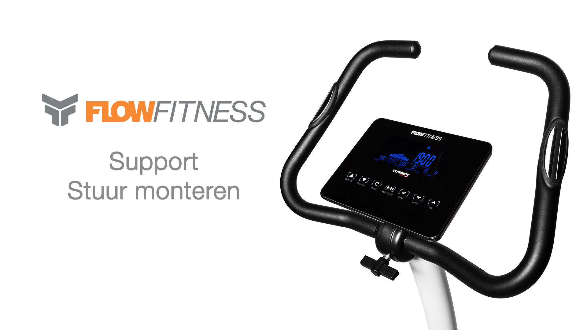 Hometrainer stuur monteren instructie video