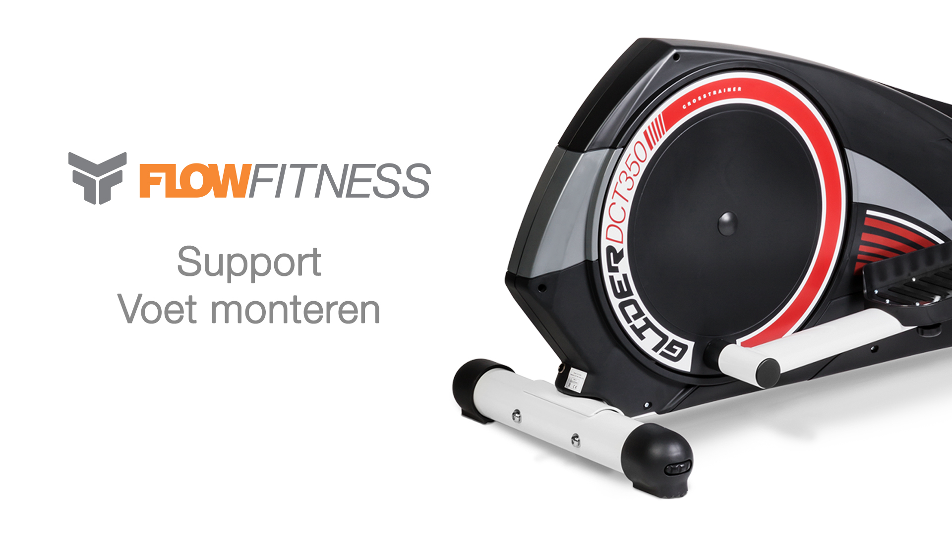 Hometrainer Crosstrainer voet monteren instructie video